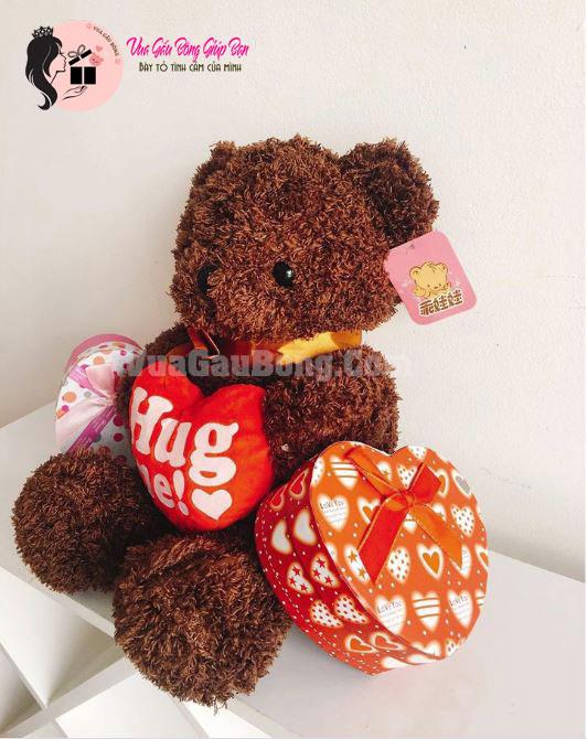 Gấu bông tặng tỏ tình đáng yêu