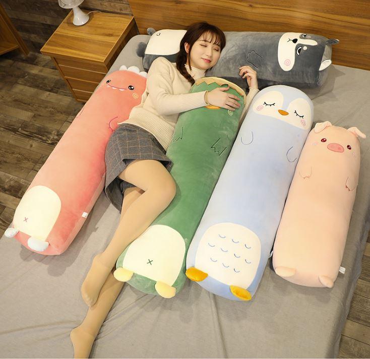 5 con vật nhồi bông dài ôm đi ngủ