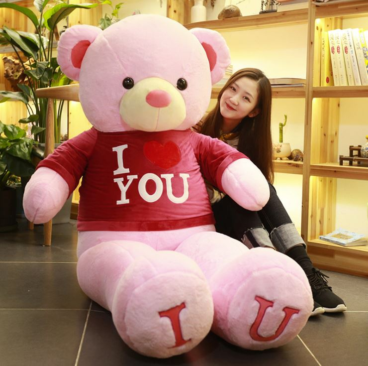 Gấu Bông Teddy I ♥ You