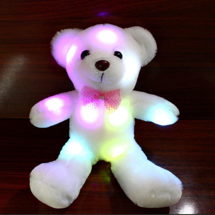 Hình ảnh 3 gấu bông phát sáng Teddy Flash