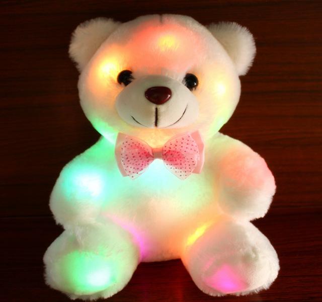 Hình ảnh 2 gấu bông phát sáng Teddy Doll