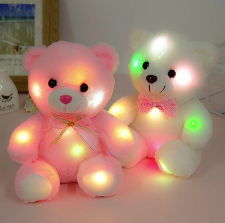 Hình ảnh 5 gấu bông phát sáng Teddy Thắt Nơ
