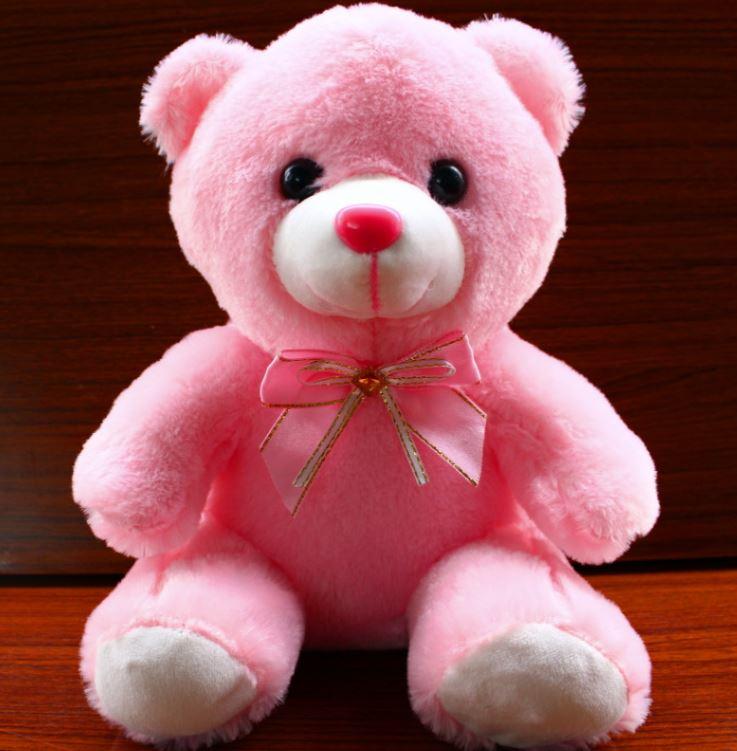 Hình ảnh 3 gấu bông phát sáng Teddy Thắt Nơ